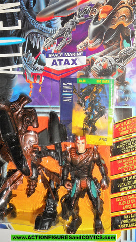 aliens vs predator kenner ATAX UK exclusive card moc mip mib