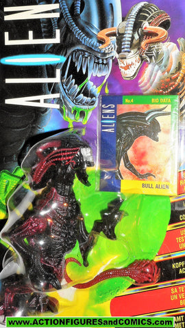 aliens vs predator kenner BULL ALIEN 1992 UK European exclusive movie moc