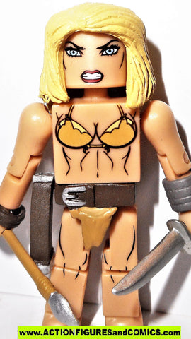 minimates SHANNA she devil kazar X-men marvel universe toy figure