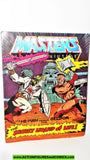 Masters of the Universe WHIPLASH vintage 100% COMPLETE comic book he-man 204