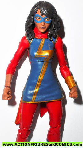 marvel legends MS MARVEL kamala khan spider-man sandman series REG ARMS fig