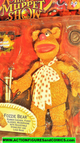 muppets FOZZIE the BEAR 6 inch the muppet show palasades 2002 moc