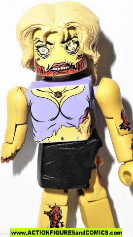 minimates FEMALE ZOMBIE the walking dead action figures amc tv show