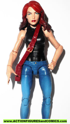 marvel legends MARY JANE WATSON PARKER 6 inch spider-man universe
