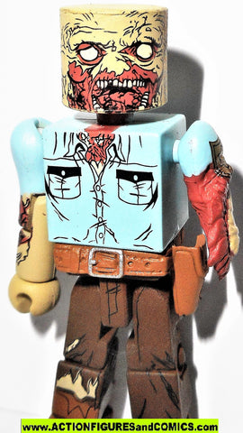 Walking Dead Minimates GUARD ZOMBIE 2012 action figure mini mates