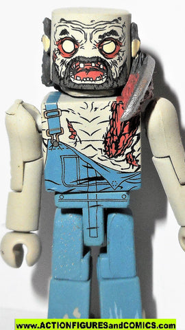 Walking Dead Minimates FARMER ZOMBIE  complete action figure