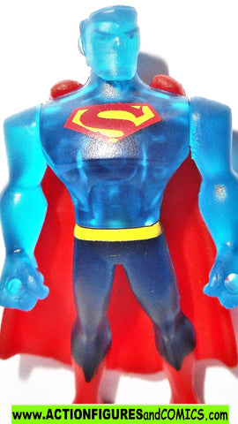 DC mighty minis SUPERMAN blue  justice league action dc universe