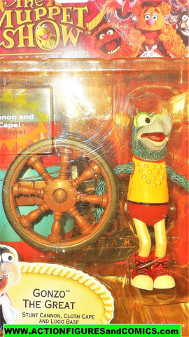 muppets GONZO the great 6 inch the muppet show palasades 2002 moc