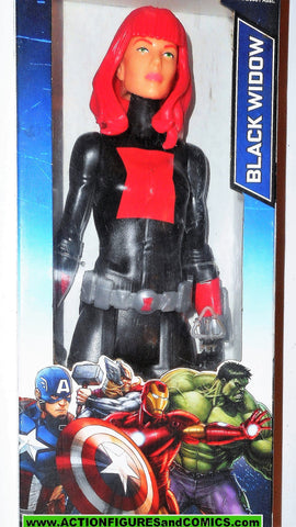 Marvel Titan Hero BLACK WIDOW avengers 12 inch movie universe moc