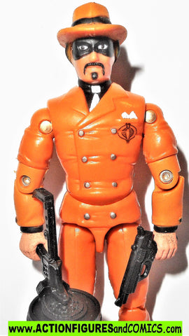 gi joe HEADMAN 2002 v2 orange 100% complete gijoe g i