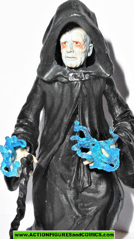 star wars action figures EMPEROR palpatine throne room 2003 saga aotc