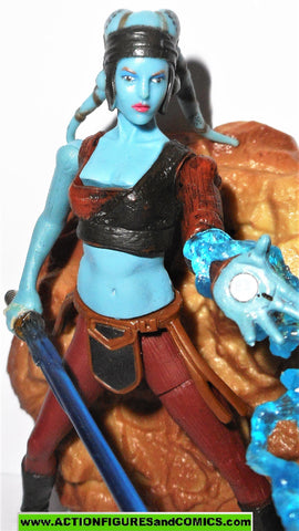 star wars action figures AAYLA SECURA 2003 complete attack of the clones saga aotc