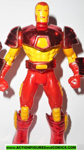 Iron man plasma cannon missile launcher 1995 marvel universe action hour toybiz