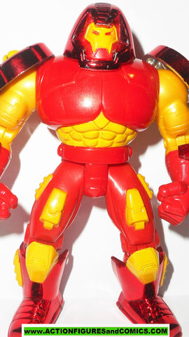 Iron man HULKBUSTER 1995 marvel universe action hour toy biz figures