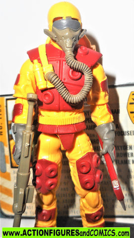 gi joe BLOWTORCH 2010 v4 complete 30th anniversary pursuit of cobra