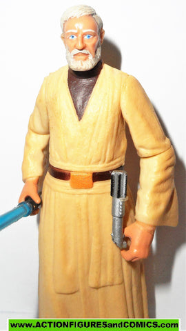 star wars action figures OBI WAN BEN KENOBI jedi knight power of the jedi