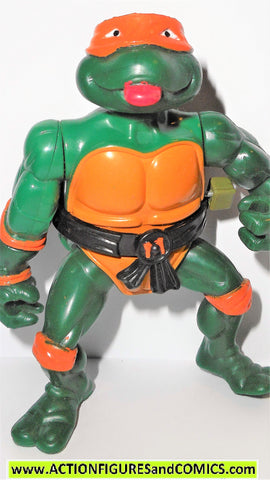 teenage mutant ninja turtles MICHELANGELO wacky action 1989 mikey fig