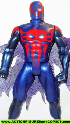 marvel universe toy biz SPIDER-MAN 2099 10 inch animated deluxe
