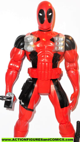 marvel universe toy biz DEADPOOL 10 inch x-men force deluxe action figures