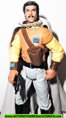 star wars action figures LANDO CALRISSIAN GENERAL 2004 OTC hasbro toys