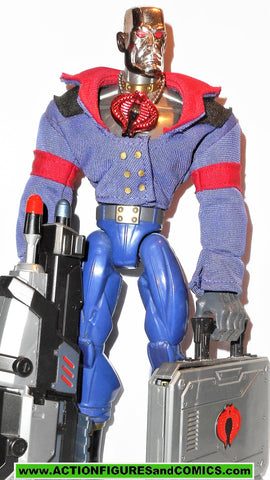 Gi joe DESTRO sigma 6 six 8 inch COMPLETE action figure 2006 gijoe