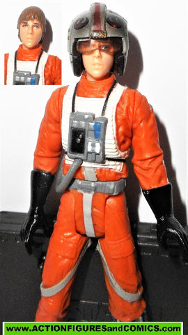 star wars action figures LUKE SKYWALKER X-wing Pilot Gear OTC 2005 saga