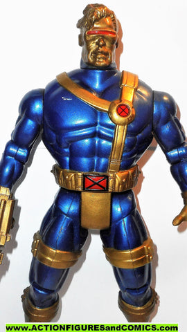 marvel universe toy biz CYCLOPS 10 inch metallic mutants x-men force deluxe