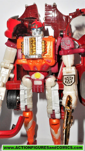 transformers RID SIDE BURN 2001 robots in disguise RED 2000
