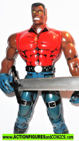 marvel universe toy biz BLADE vampire hunter 10 inch x-men animated