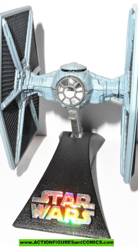 Star Wars Titanium TIE FIGHTER 2005 complete 3 inch series pilot