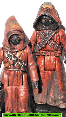 star wars action figures JAWAS 24 2005 OTC jawa original trilogy collection