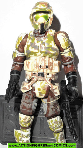 star wars action figures BIKER SCOUT ELITE CORPS TROOPER 065 2006 Saga