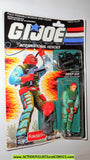 gi joe DEEP SIX 1989 1999 funskool hasbro toys moc mip mib action figures