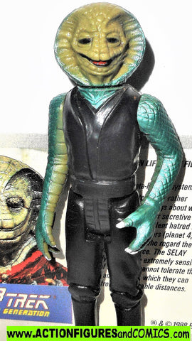 Star Trek SELAY Alien 1988 intage galoob toys action figures