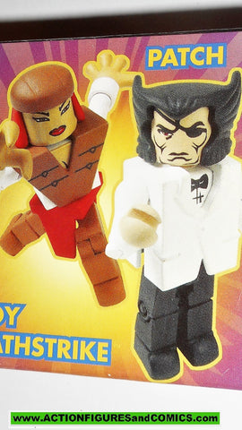 minimates PATCH vs LADY DEATHSTRIKE  2003 x-men mini mates action figure mib moc