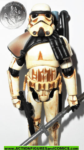star wars action figures SANDTROOPER heavy mud 30th anniversary 2006 2007