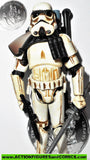 star wars action figures SANDTROOPER light mud 30th anniversary 2006 2007