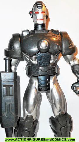 marvel universe toy biz WAR MACHINE 10 inch Iron Man animated deluxe