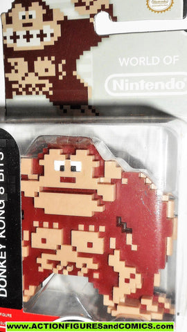World of Nintendo DONKEY KONG 8 Bit 3 inch 2015 jakks pacific moc 000