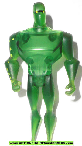 justice league unlimited AMAZO clear green body dc universe