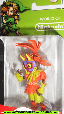 World of Nintendo SKULL KID legend of zelda 2.5 inch 2015 jakks pacific moc
