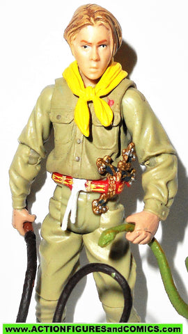 Indiana Jones hasbro YOUNG INDY last crusade 2008 complete kenner