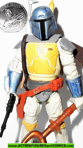 star wars action figures BOBA FETT Animated Debut 30th anniversary 2006 2007