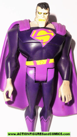 justice league unlimited BIZARRO pink superman dc universe action figure