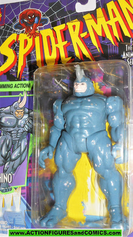 Spider-man the Animated series RHINO 1994 complete toy biz marvel universe moc
