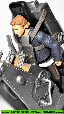 star wars action figures HAN SOLO torture rack 30th anniversary 2006 2007