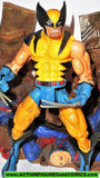 marvel legends WOLVERINE yellow series III 3 complete toy biz
