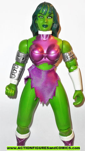 marvel universe toy biz SHE-HULK 10 inch animated deluxe collectors