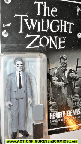 Twilight Zone HENRY BEMIS black & white bifbangpow moc