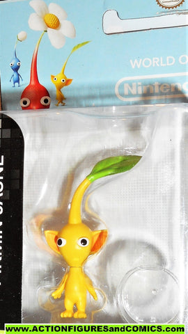 World of Nintendo PIKMIN YELLOW 2.5 inch 2015 jakks pacific moc